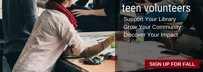 summer teen volunteer